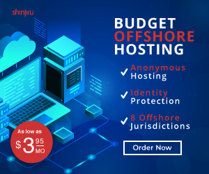 Budget Offshore Hosting ads