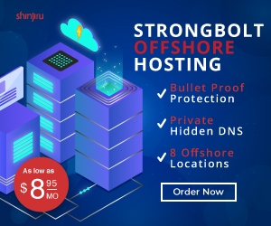 Strongbolt Offshore Hosting Ads