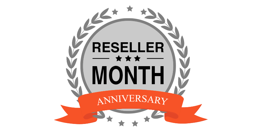Enjoy a free hosting on your reseller anniversary month